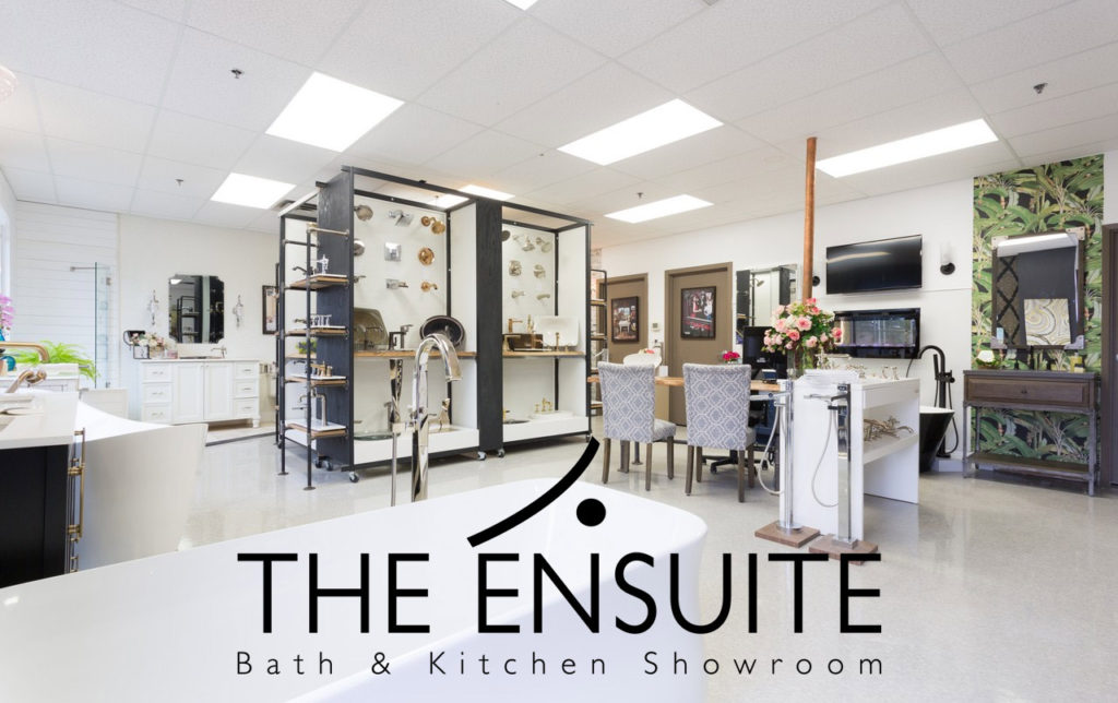 bath & kitchen showroom with large variety of taps and basins on display